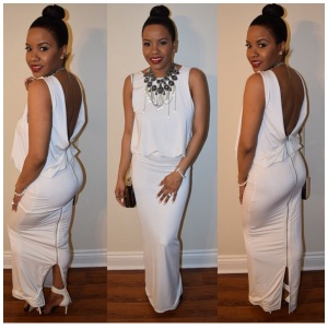 My client requested a Black and White classy look for her event. This is what Style.Like.You.Are.Rich created for her.