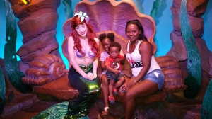 Photo-op with Ariel