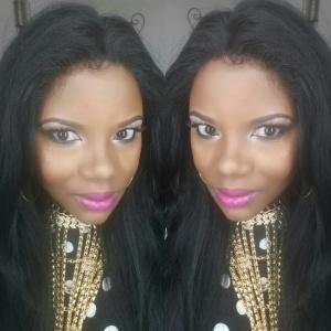 Thursday's makeup look